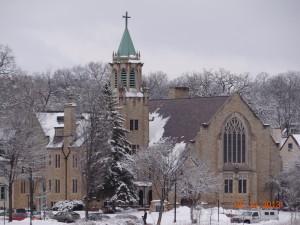 Lake of the Isles Lutheran Church, Winter