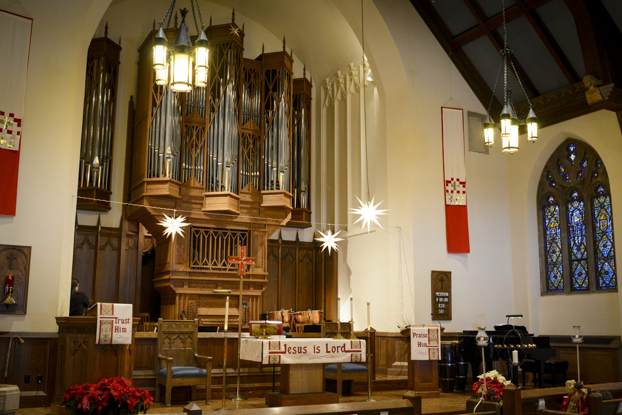 Pipe Organ at Lake of the Isles Lutheran Church in Minneapolis, MN